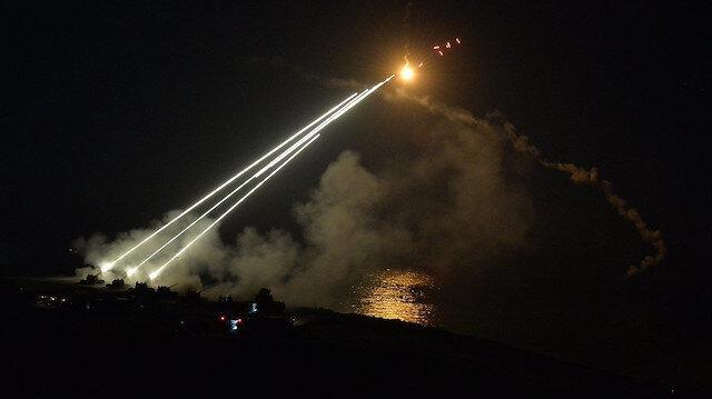 MSB: Barış Pınarı Harekatı kapsamında 181 hedef ateş altına alındı