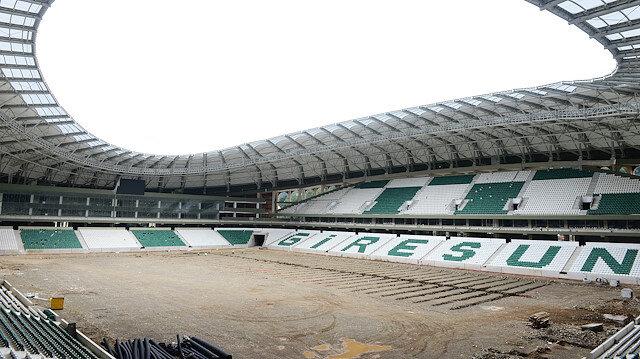 Çotanak Stadı'nda sona gelindi: Yıl sonuna kadar tamamlanacak