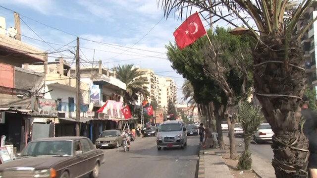 Lübnan Kırmızı Beyaz