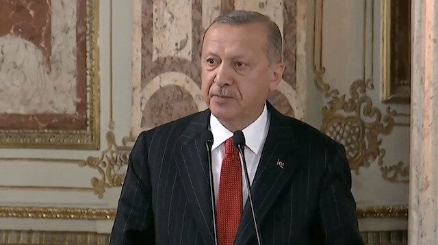 Cumhurbaşkanı Erdoğan: Biz Suriye'yi bölmek için değil korumak için orada bulunuyoruz
