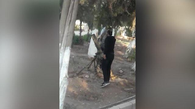 PKK'lılar Nusaybin'i hedef alan roketleri çocuk parkından atıyor
