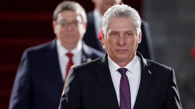 Image result for miguel diaz canel