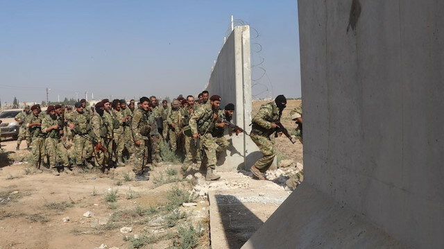 File photo: Operation Peace Spring in northern Syria