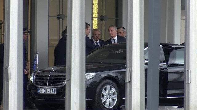 NATO Genel Sekreteri Stoltenberg Cumhurbaşkanı Erdoğan ile görüşmek üzere İstanbul'a geldi