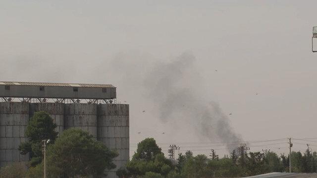Rasulayn ve Tel Abyadda terör hedefleri havadan ve karadan vuruluyor