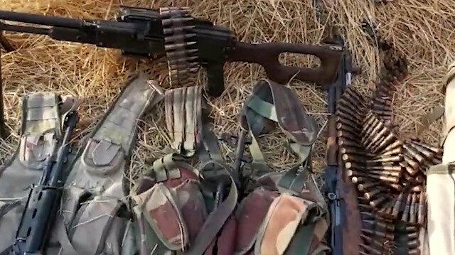 Terör örgütü PKK silahlarını bırakıp kaçıyor
