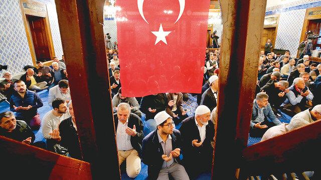 Dua ordusu Mehmetçiğin yanında