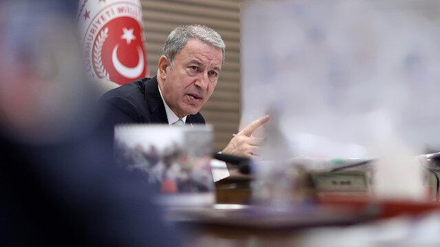 Bakan Akar: Barış Pınarı Harekatı'nda 342 terörist etkisiz hale getirildi