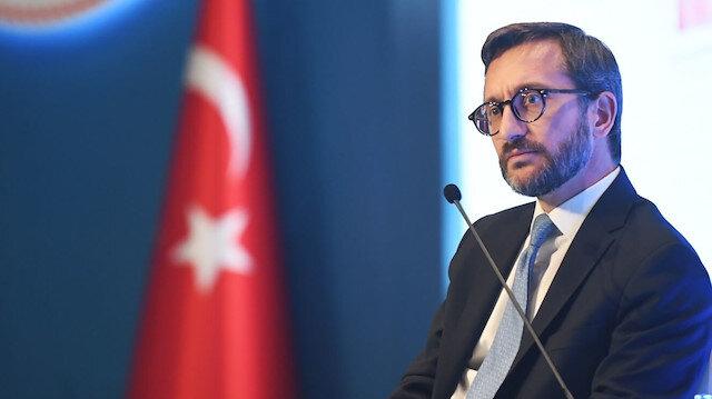 Fahrettin Altun Arap Birliği'nin skandal bildirisine tepki gösterdi: Türkiye'nin Filistin halkının haklarını savunmasından rahatsız olanların Arap dünyasını temsil etmediğini çok iyi biliyoruz