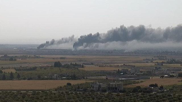 Rasulayn'da terör mevzileri vurulmaya devam ediyor