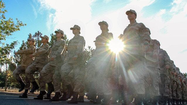 Jandarma Kadın Astsubaylar 'Barış Pınarı'nda görev almak için hazırlar