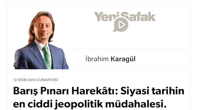 """* Barış Pınarı Harekâtı: Siyasi tarihin en ciddi jeopolitik müdahalesi. * """"ABD, Avrupa ne der"""" diyenin defteri dürüldü, """"iç işgalci cephe"""" çöktü. * Dışarıda çaresizlik, içeride dayanışma.. * Allah, Erdoğan'a güç, ordumuza zafer versin.."""