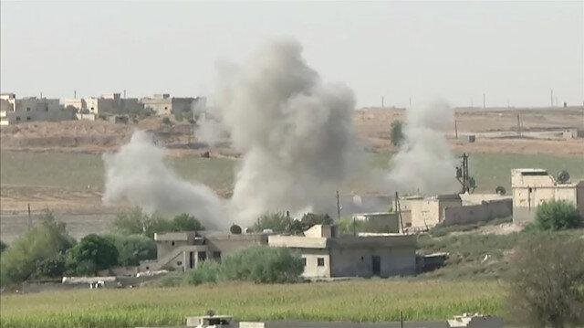 Güney ve doğudan kuşatılan Tel Abyad'ın teröristlerden temizlenmesi an meselesi