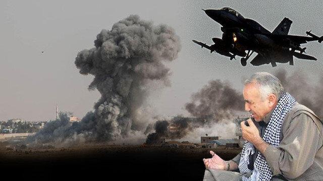 Fırat'ın doğusunda terör örgütü köşeye sıkıştı: Teröristbaşı Karayılan koalisyon güçlerine 'hava sahasını Türkiye'ye kapatın' diye yalvardı