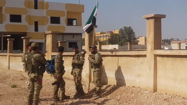 City center of Syria's Tal Abyad cleared of YPG/PKK