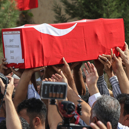 President Erdoğan extends condolences to martyr's family