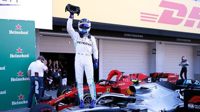 F1'de şampiyon Mercedes