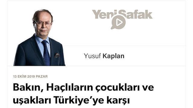 Bakın, Haçlıların çocukları ve uşakları Türkiye'ye karşı nasıl da birleşti!