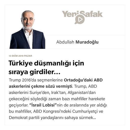 Türkiye düşmanlığı için sıraya girdiler…