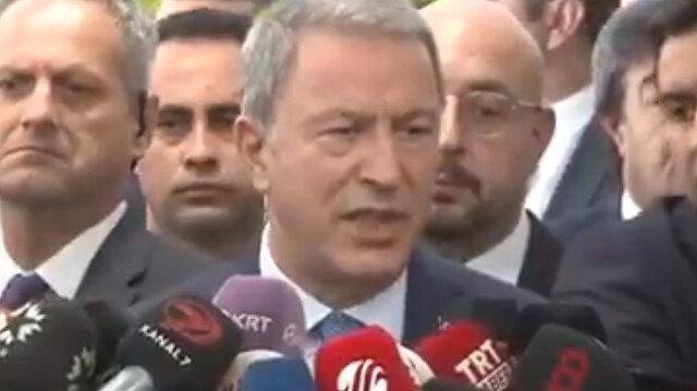 Bakan Akar: Harekat başarıyla devam ediyor, Tel Abyad ve Resulayn kontrol altında