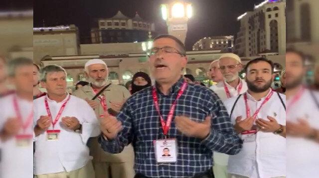 Mukaddes topraklardan Barış Pınarı Harekatı'ndaki Mehmetçiklere dua