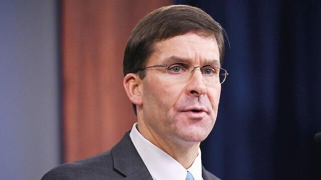 ABD Savunma Bakanı Mark Esper: Türkiye'ye karşı bir savaş başlatamayız