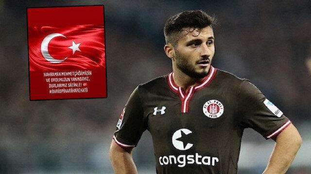 Mehmetçik'e desteği hazmedemediler: Alman kulübü Enver Cenk Şahin'i kadro dışı bıraktı