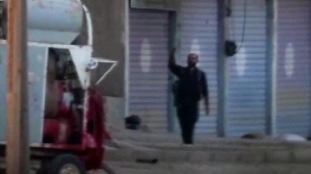 Resulayn'daki teröristlerin TSK'nın kontrolü sağlamasının ardından kaçtıkları görüntüler ortaya çıktı