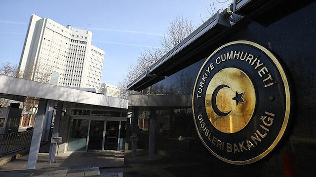 Dışişleri Bakanlığı: AB'nin kararını kınıyor çağrılarını reddediyoruz