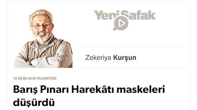 Barış Pınarı Harekâtı maskeleri düşürdü