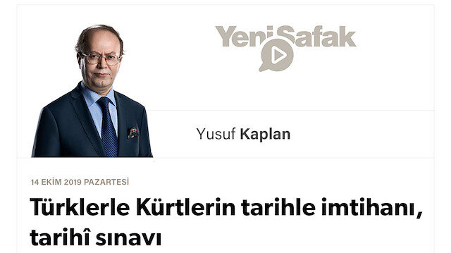 Türklerle Kürtlerin tarihle imtihanı, tarihî sınavı