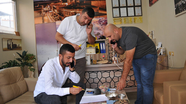 Mardin'de emlakçılar YPG'lilerin mağdur ettiği Nusaybinlilere ev için yardım ediyor
