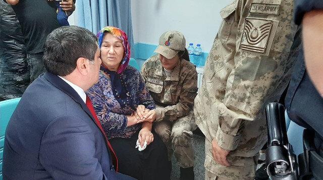Münbiç'te yaralanan askerlerimiz Gaziantep'e getirildi: Hastanede ziyaret edildi