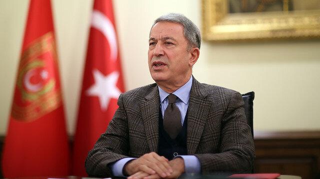 Milli Savunma Bakanı Akar Irak'lı mevkidaşı El-Şamari'yle telefonda görüştü