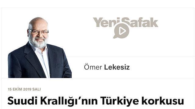 Suudi Krallığı'nın Türkiye korkusu