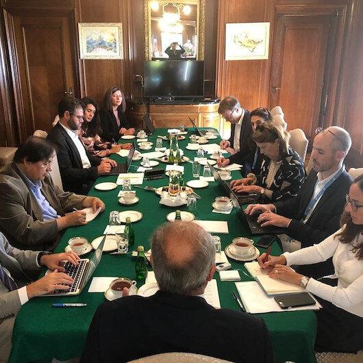 Turkey slams global media reports on Syria operation