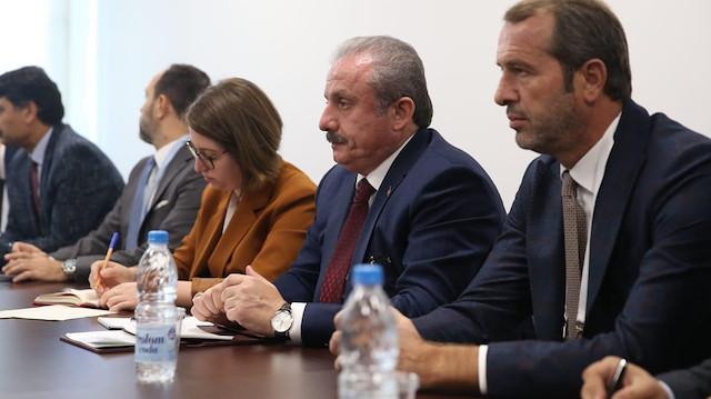 TBMM Başkanı Mustafa Şentop: Barış Pınarı Harekatı hedefine uygun şekilde devam ediyor