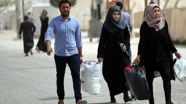 Tel Abyadlılar Barış Pınarı ile terörden kurtarılan ilçelerine dönmeye başladı
