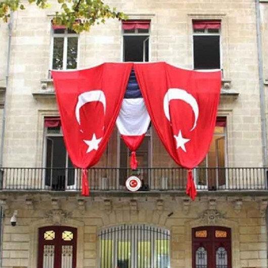 Fransa'da Türk Başkonsolosluk binasına saldırı: Saldıran üç PKK'lı gözaltına alındı