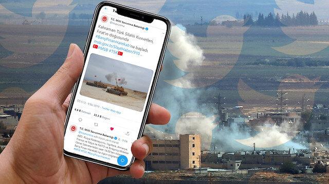 Barış Pınarı Harekatı: Mücadele sadece sahada değil sosyal medyada da veriliyor