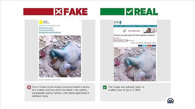 Pro-terrorist accounts post fake social media content