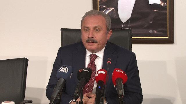 Şentop'tan HDP'li milletvekiline kınama: Bu ülkenin milletvekillerinin ortak menfaat için mücadele etmesi gerekir