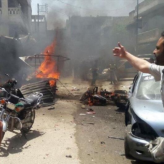 """مقتل 6 وإصابة 15 مدنيا في هجمات لإرهابيي """"ي ب ك"""" بريف حلب"""