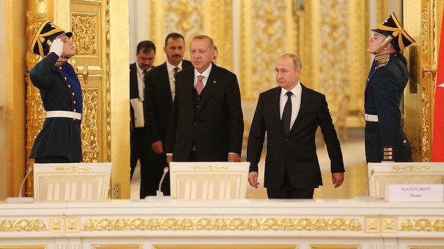 Cumhurbaşkanı Erdoğan 22 Ekim'de Rusya'ya gidecek