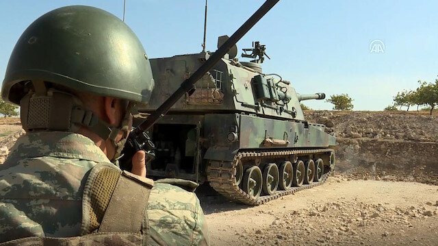 Operation Peace Spring in northern Syria