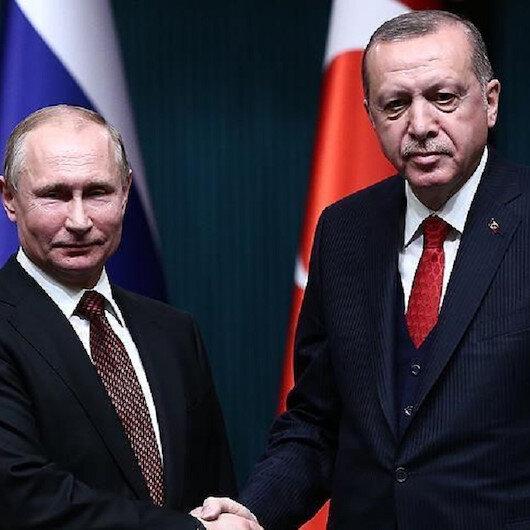 """اتصال هاتفي بين أردوغان وبوتين حول عملية """"نبع السلام"""" في سوريا"""