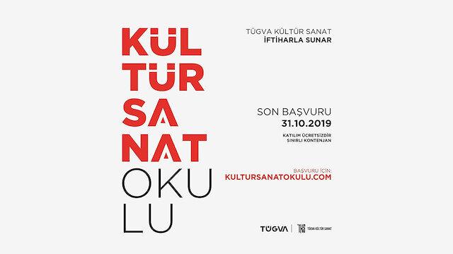 TÜGVA Kültür Sanat Okulu başlıyor