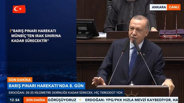 Erdoğan'dan ekonomik yaptırım tehditlerine cevap: Azdan az gider, çoktan çok gider