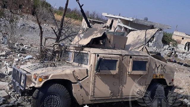 Suriye Milli Ordusu, ABD yapımı ağır zırhlı askeri aracı daha ele geçirdi