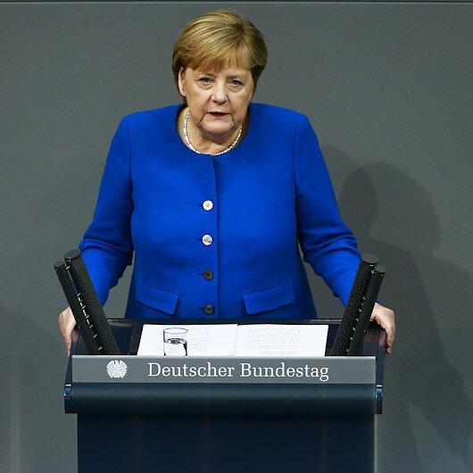 Merkel worried over Russia's influence in Syria
